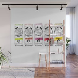 White Claw illustration Wall Mural