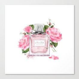 Miss pink Canvas Print