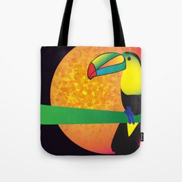 Toucan - Black Tote Bag