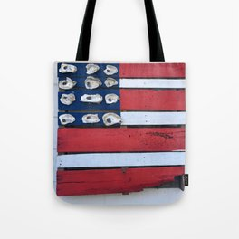 Oyster Flag Tote Bag