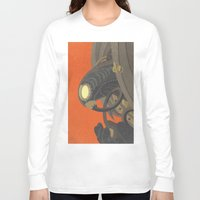 bioshock infinite Long Sleeve T-shirts featuring SongBird - BioShock Infinite by LindseyCowley