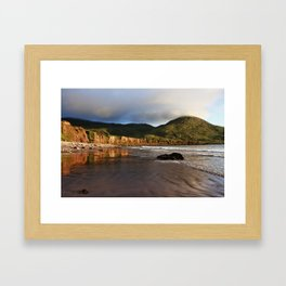 Seaside Reflections, County Kerry, Ireland Framed Art Print