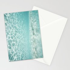 Under Water Light Stationery Cards