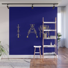 I AM in Sacred Geometry Letters Wall Mural
