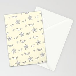 "Nifty 50's - ""Kick-Ass Sugar and Spice"" in Cream Stationery Cards"