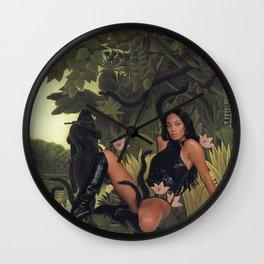 Goddess Returns Wall Clock