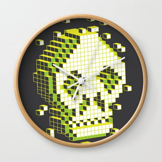 pixelation Wall Clock