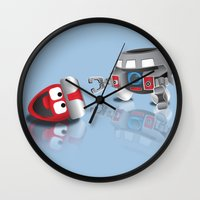 olaf Wall Clocks featuring OLAF - INCENT by dapperdesignz