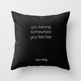 Tom Petty Throw Pillow