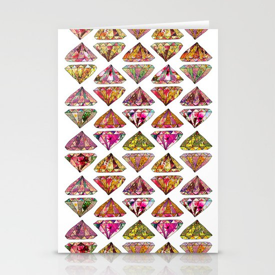 These Diamonds Are Forever Stationery Cards