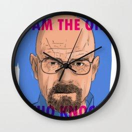 i'm the one who knocks Wall Clock