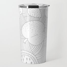 Fruit Faded Travel Mug