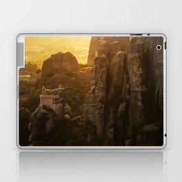 Golden hour at Meteora Laptop & iPad Skin