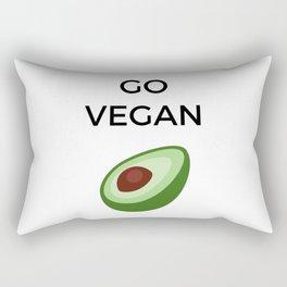 GO VEGAN Rectangular Pillow