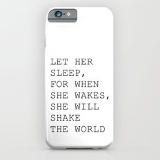 Let her sleep Slim Case iPhone 6s