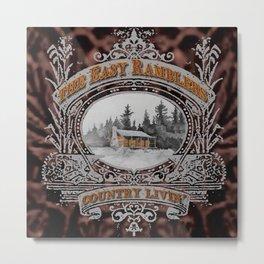 Country Livin' Metal Print