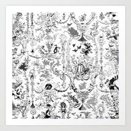K.F. Art Print