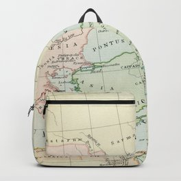 Old Map of The Roman Empire Backpack