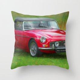 Classic MG Throw Pillow