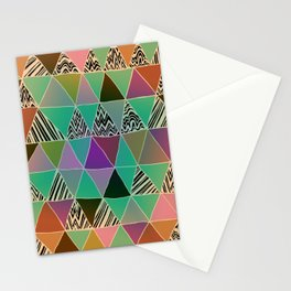 Triangle 3 Stationery Cards