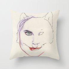 Malicieuse Throw Pillow