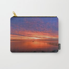 Colorful sunrise on Patuxent River - St.Marys County, MD Carry-All Pouch