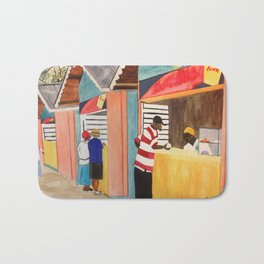 Carnival Stands Bath Mat