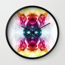 Smoke Art 53 Wall Clock