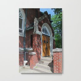 First Methodist Church III Metal Print