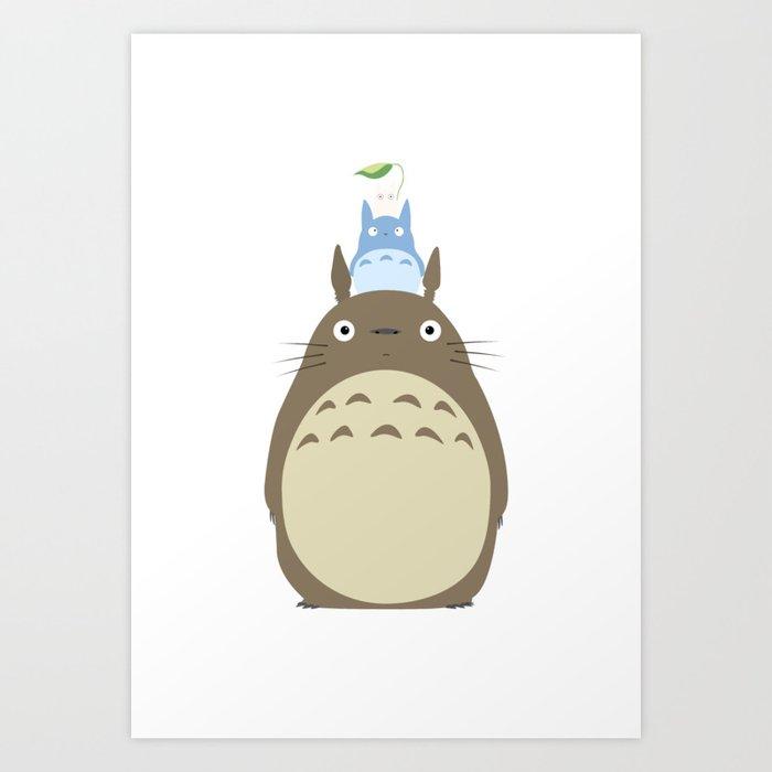 Totoro Kunstdrucke