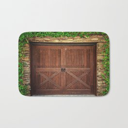 Door and Ivy Backdrop Bath Mat