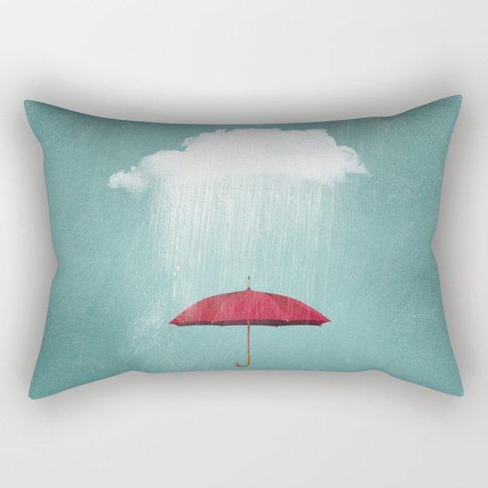 WHITE RAIN Rectangular Pillow