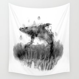Splashed with joy Wall Tapestry