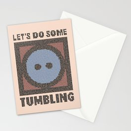Let's Do Some Tumbling Stationery Cards