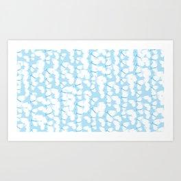 Butterflies Blue Art Print