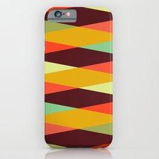 multicolor diamond pattern Slim Case iPhone 6s