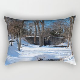 Side Cut Lock in Winter VI Rectangular Pillow