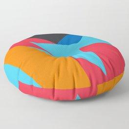VII Barcelona Days Floor Pillow