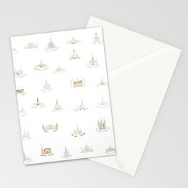 LDS Temples Stationery Cards