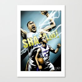 The Brow of SHAZAM! Canvas Print