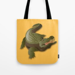 Crocodile - 'A Fantastic Journey' Tote Bag