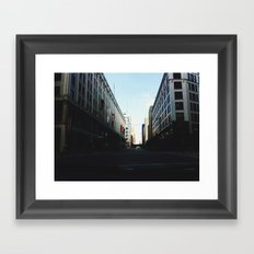 Milwaukee, WI Framed Art Print