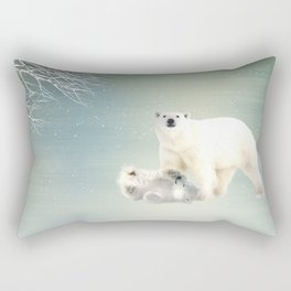 Arctic Family Rectangular Pillow