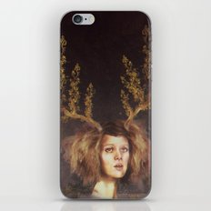 The Golden Antlers iPhone & iPod Skin