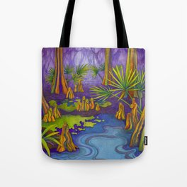 Cypress Twilight Tote Bag