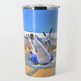Pop Art Airliner Travel Mug