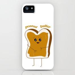 peanut butter friend iPhone Case