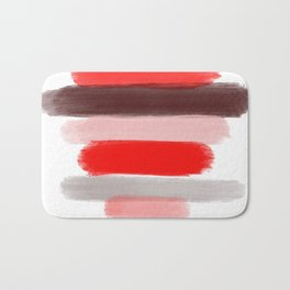 Red Lips Bath Mat
