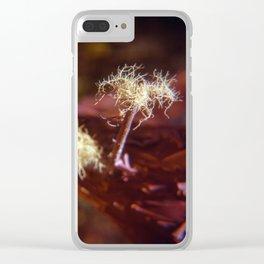 Sea Ranch fungi Clear iPhone Case