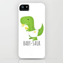 Baby-saur iPhone Case